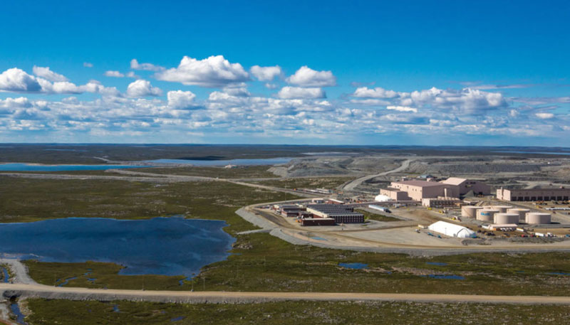 Dominion Diamond Mines has sold its Ekati Diamond Mine and its assets to Arctic Canadian Diamond Company. Photo ©Dominion Diamond Mines