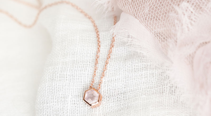 Paris Jewellers, will be releasing the 'Hope' set on May 4, donating 100 per cent of the net proceeds to the Canadian Asian Solidarity Fund and Stop AAPI Hate. Photo courtesy Paris Jewellers