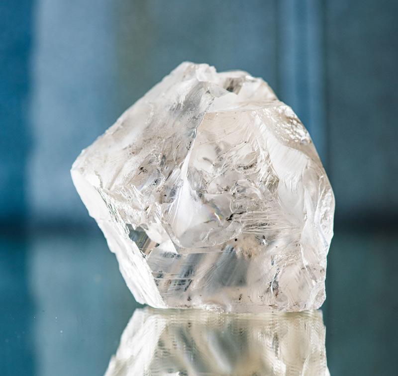 Lucara Diamond has unearthed a 470-carat diamond from its Karowe Mine in Botswana. Photo courtesy Lucara Diamond