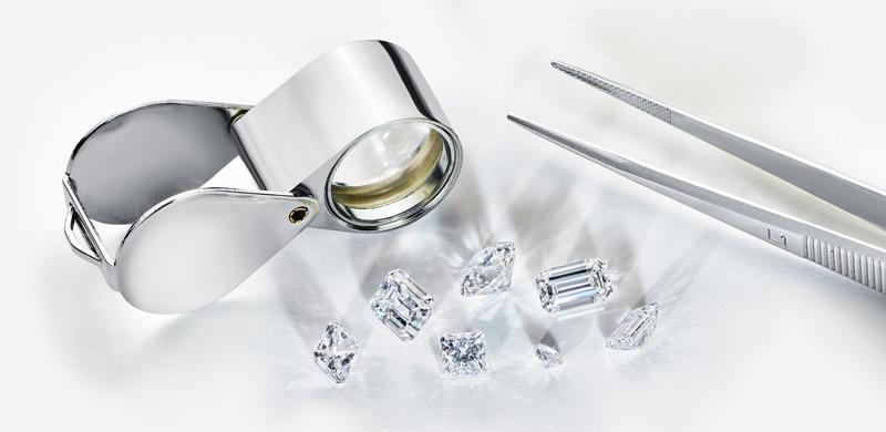 Mining company Alrosa has introduced new 'nanomarking' technology using non-invasive laser marking to trace its diamonds from mine to market. Photo courtesy Alrosa