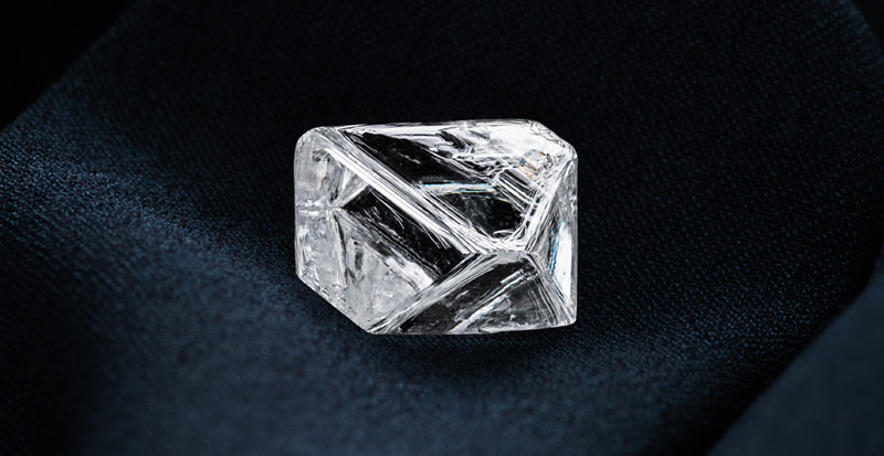The laser markings, which cannot be destroyed or polished off, are intended to distinguish Alrosa's precious stones from others and provide accurate information about the diamonds' origins.