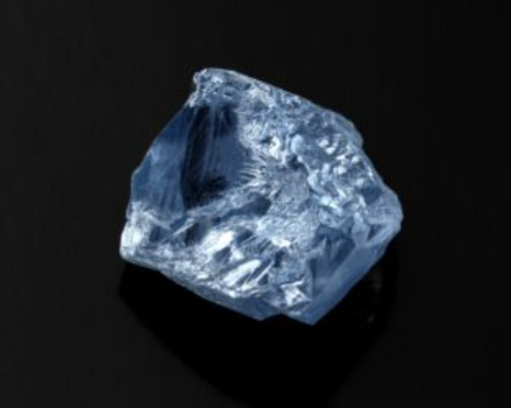 De Beers Group, in partnership with manufacturer Diacore, has purchased Petra's 39.34-carat blue diamond for US$40.2 million. Photo courtesy Petra Diamonds