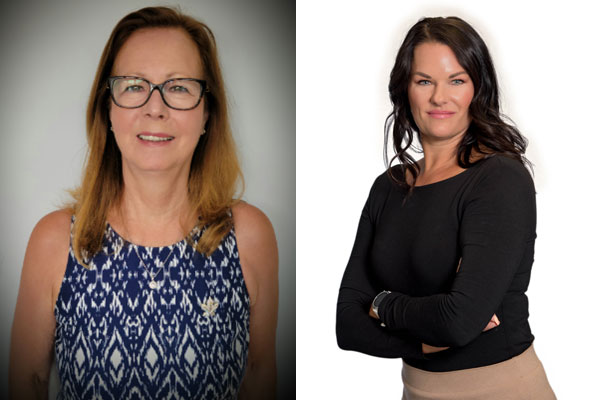 Beth Saunders (left), who has served as executive director of the Canadian Jewellery Group (CJG) for 22 years, has retired. She has been succeeded by Coralee Dolyniuk (right).