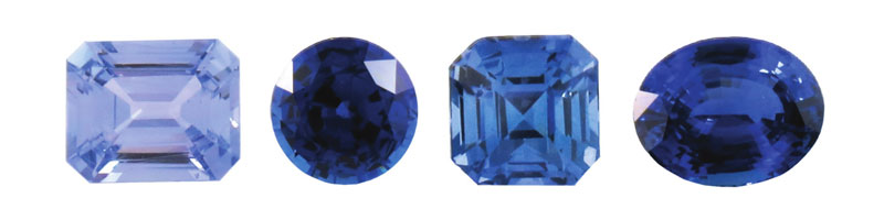 Sapphires are considered precious gemstones, along with rubies, emeralds, and diamonds. This is not surprising, considering the amazing range of colours these gems can show, as well as being the third hardest mineral on the Mohs scale, after only diamonds (10) and synthetic moissanite (9.5).